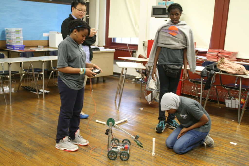 Belmont Science day robot2